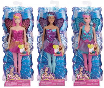 Búp bê Barbie nàng tiên cánh bướm CFF32