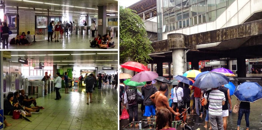Mario Causes Flooding in Metro Manila with Pictures 19-09-2014-09