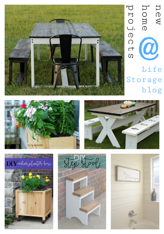 new home projects at Life Storage Blog #LifeStorageDIY #newhome