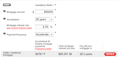 HSBC Mortgage Calculator
