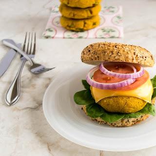 Pumpkin Almond Burger Patties.