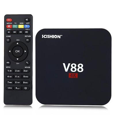 SCISHION V88 4K TV Box Özellikleri