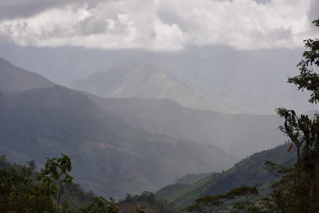 Piste de Gualchan à Chical, 2200 m (Carchi, Équateur), 22 novembre 2013. Photo : J.-M. Gayman