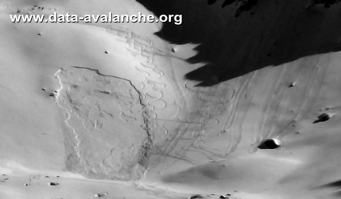 Avalanche Queyras, secteur Col Tronchet, Vallée du Mélézet - Ceillac - Photo 1 - © Portier JB