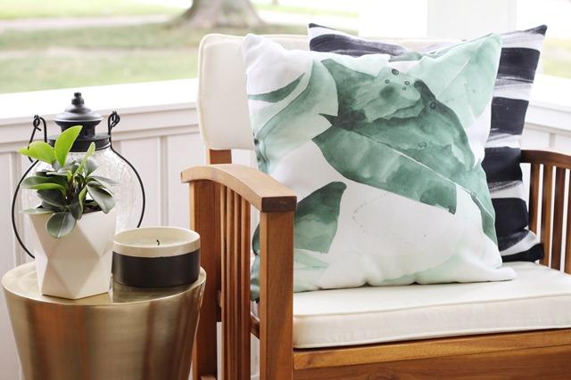 Porch Pillow Details