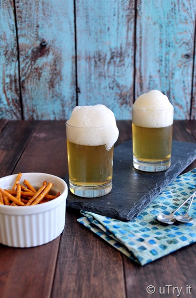 April's Fool Recipe – How to make Apple Juice Jello in Disguise as A Glass of Beer  http://uTry.it