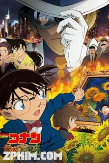 Thám Tử Conan Movie 19: Hoa Hướng Dương Của Biển Lửa - Detective Conan: Sunflowers of Inferno (2015) Poster