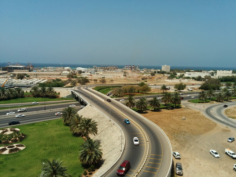 Muscat view from Park Inn hotel