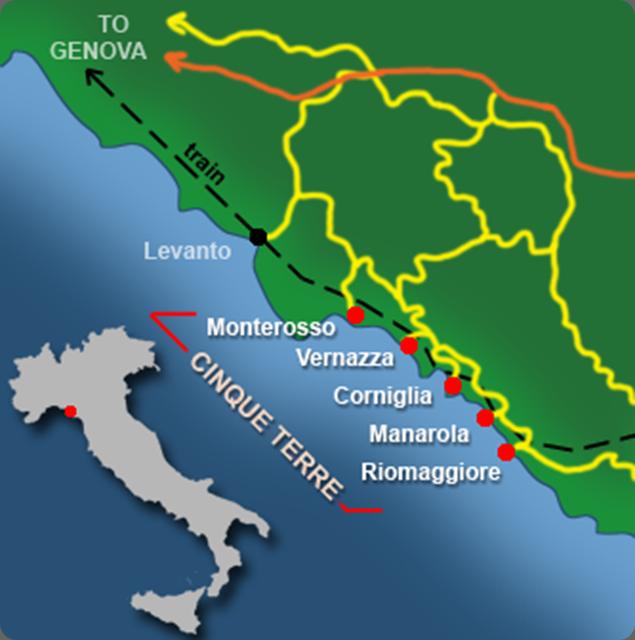 cinque-terre mappa