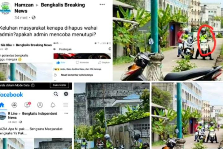 Viral Razia Dalam Gang, Kasatlantas Bengkalis Riau Bantah Razia Tak Sesuai Prosedural