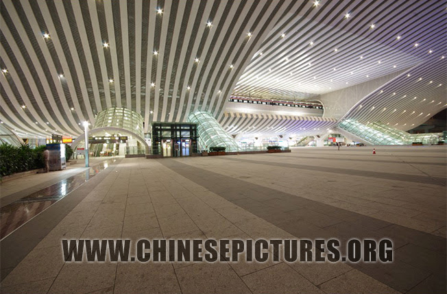 Shenzhen North Railway Station Night Photo 2