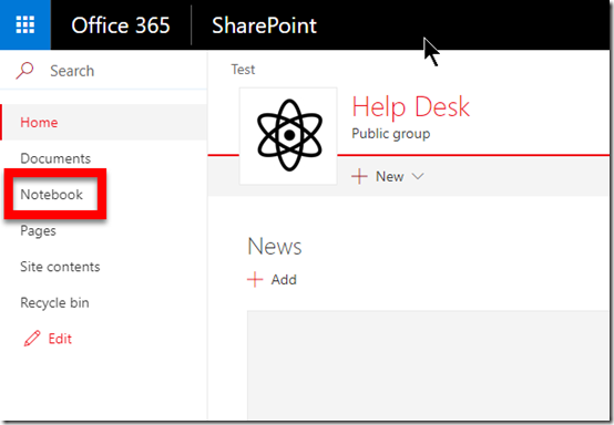 Microsoft Teams and OneNote integration – CIAOPS