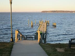 Sandy Cove - beautiful dock on the bay - cue Otis Redding