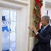 White House Staff pranks U.S President Obama with creepy snowmen (photos)