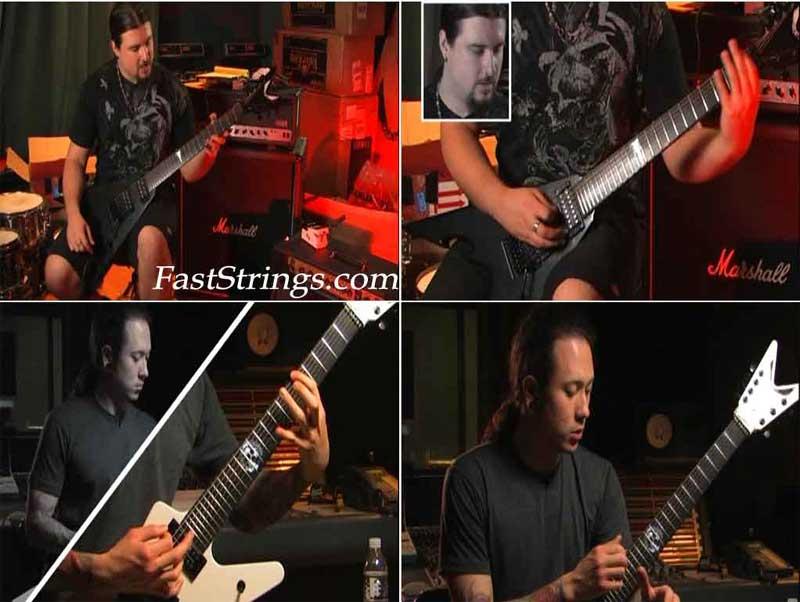 Trivium - Matt Heafy & Corey Beaulieu: The set of guitar lessons