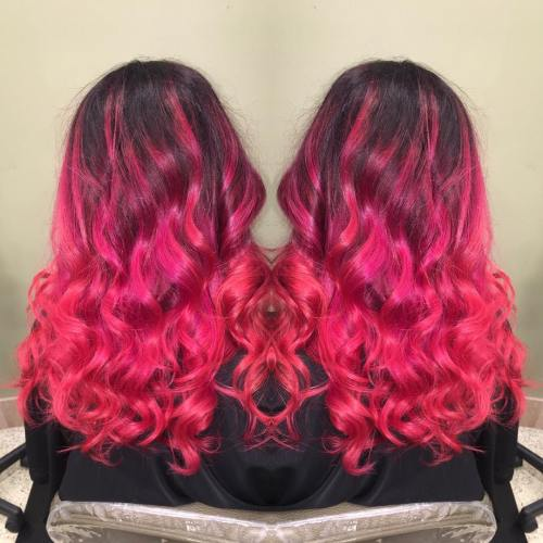 The Best Unboring Styles with Magenta Hair Color By Professional 2017 7