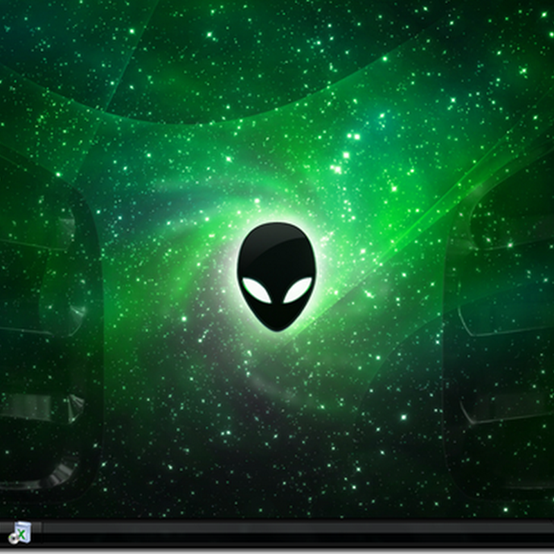 Alienwaree Green With External Extreme Pack v3.1