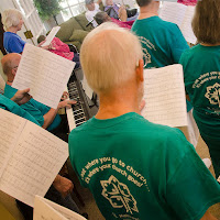 2017 07 30 Church On the Move Singing Heartsfield 3 Singers from back with piano ARR 8831