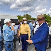 Senadores son impedidos de entrar a Punta Catalina