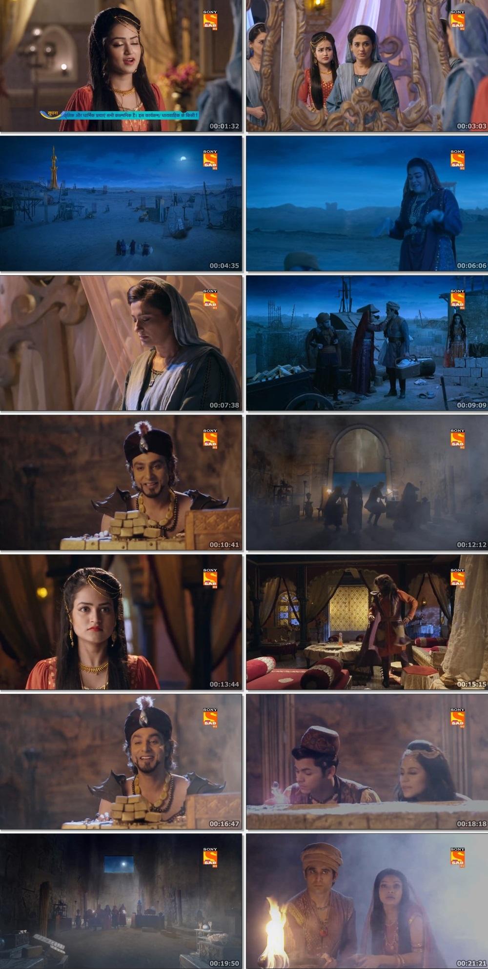 Screenshots Of Hindi Show Aladdin – Naam Toh Suna Hoga 2019 Episode 271 300MB 720P HD