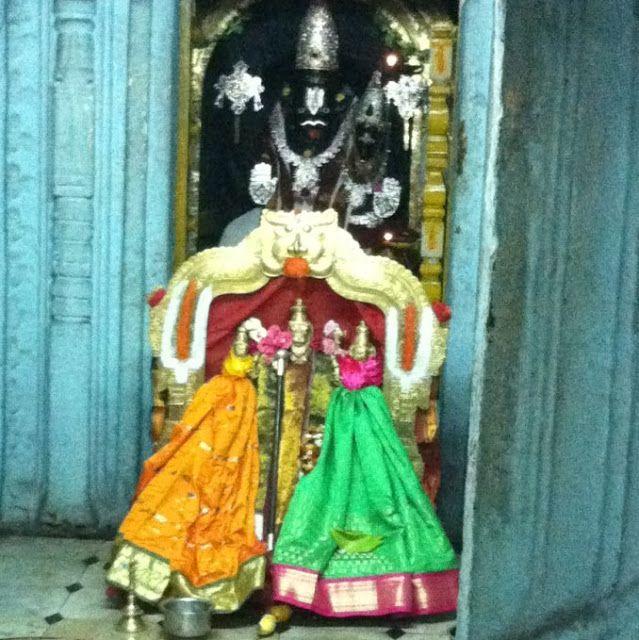 Main Deity Of Vadapalli Lakshmi Narasimha