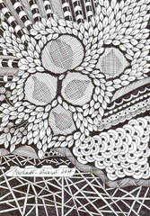 582 Zentangle Nuts
