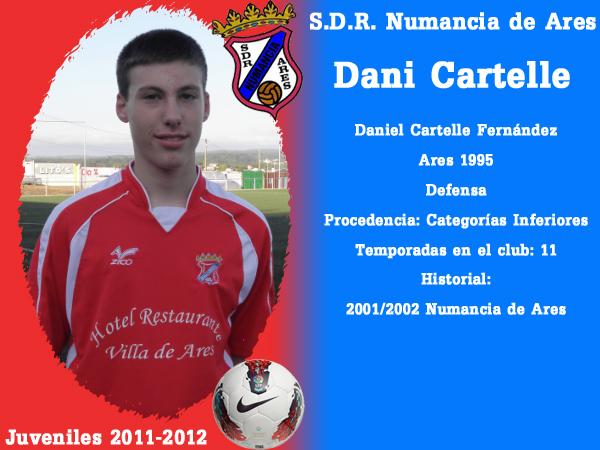 ADR Numancia de Ares. Xuvenís 2011-2012. DANI CARTELLE.