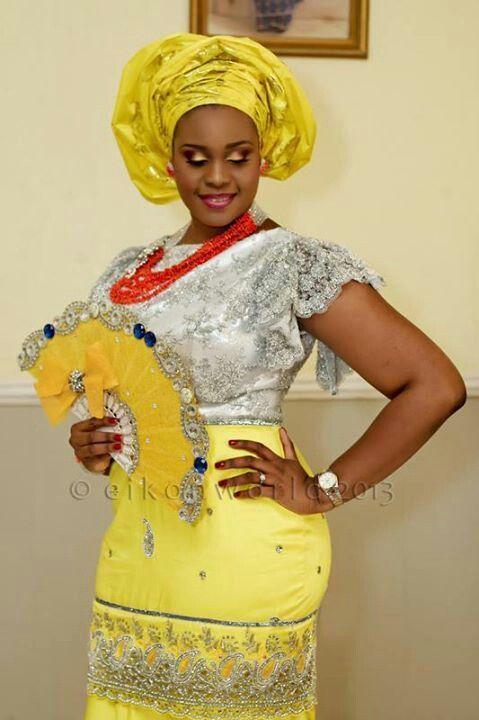 Traditional Nigerian Wedding Attire 2016