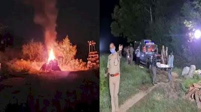 Up k Hathras May Huwe Gangrape k Pidita ka police Ne kiya Jabran Antim sanskar ?
