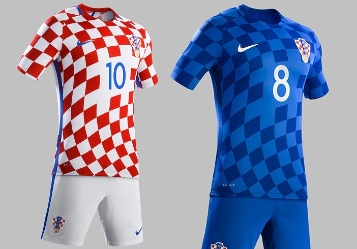 Croatian home and away kit features traditional designs and were official  released on Sunday dcb045310