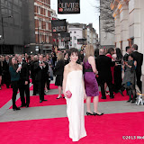 WWW.ENTSIMAGES.COM -    Helen McCrory    at      The Olivier Awards at Royal Opera House, Covent Garden, London, April 28th 2013                                               Photo Mobis Photos/OIC 0203 174 1069