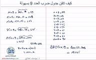 تقنيات الحساب الذهني حلقة1 ضرب اي عدد في العدد 9 بدون استعمال الحاسبة