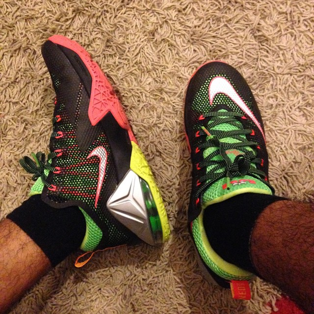 info for c4583 5fb03 ... Upcoming Nike LeBron 12 Low Remix Real Photo