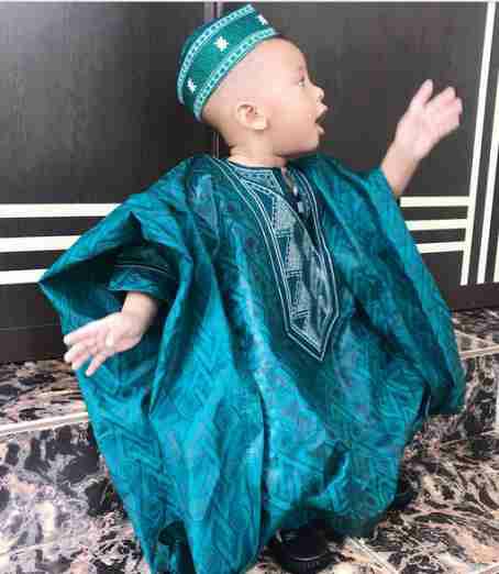 Femi Fani-Kayode's only son & last child slays in Agbada (photos)