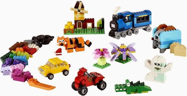 Lego Classic 10696 Thùng gạch sáng tạo Medium Creative Brick Box đem tới khả năng xây dựng là vô tận
