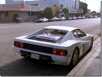 Ferrari Testarossa Deux Flics à Miami