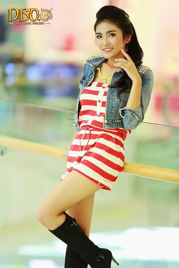 Ngắm bộ ảnh cực đẹp của các hotgirl Daybreak Online 5