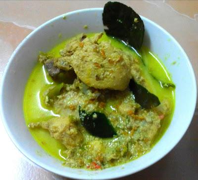 Resepi ayam masak lemak cili padi