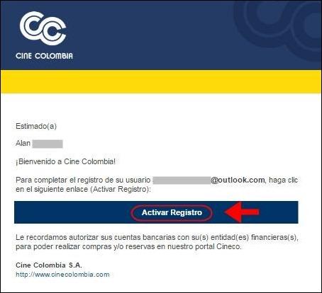 Abrir mi cuenta Cine Colombia - 658