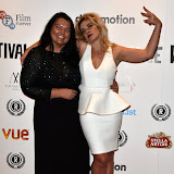 OIC - ENTSIMAGES.COM - Alice and Kierston Wareing at the Raindance Opening Night Gala at the Vue in Leicester Square, London on the 23rd September 2015. Photo Mobis Photos/OIC 0203 174 1069