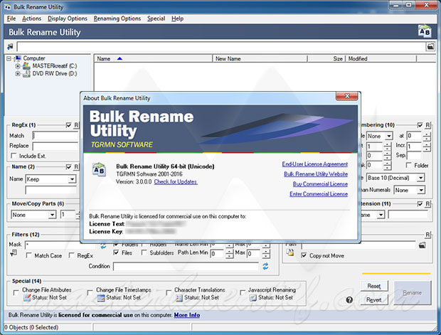 Bulk Rename Utility 3
