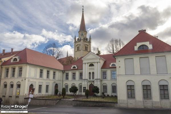 Siedziba Muzeum Porcelany w Wałbrzychu