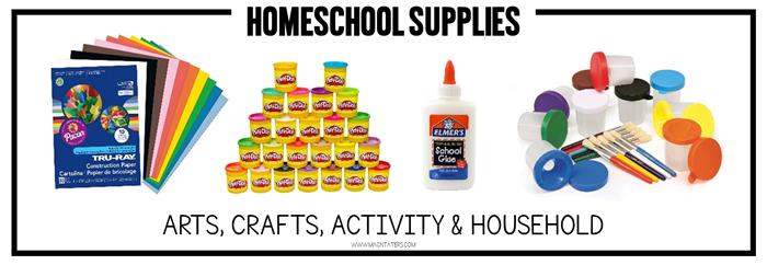 Arts, Crafts, Activity Supplies