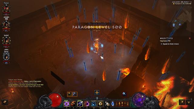 Diablo III: Reaper of Souls - Paragon Level 500