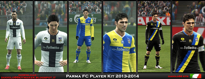 Parma Kits 2013-14 - PES 2013
