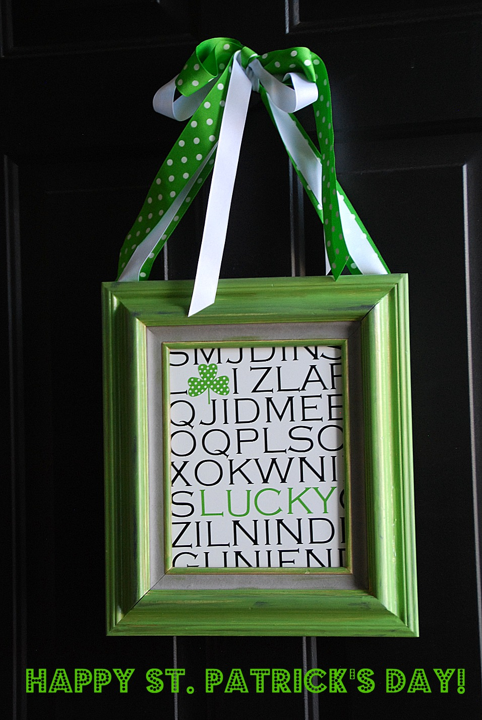 Quick and easy st patrick s day craft my