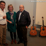 Javier García Moreno, Pilar Gisbert y José Mª Vilaplana.