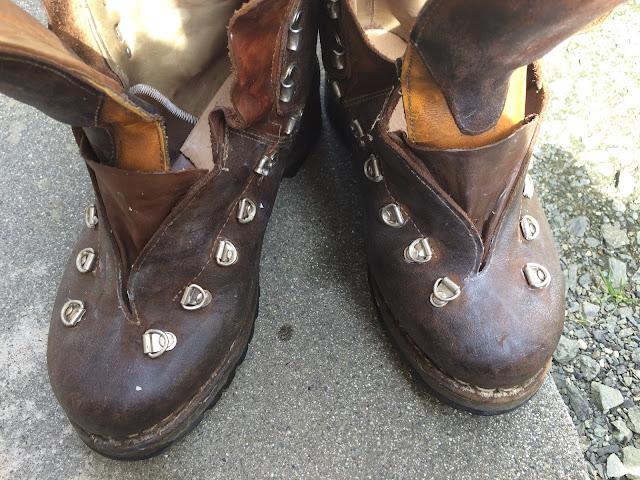 マインドル 登山靴 手入れ