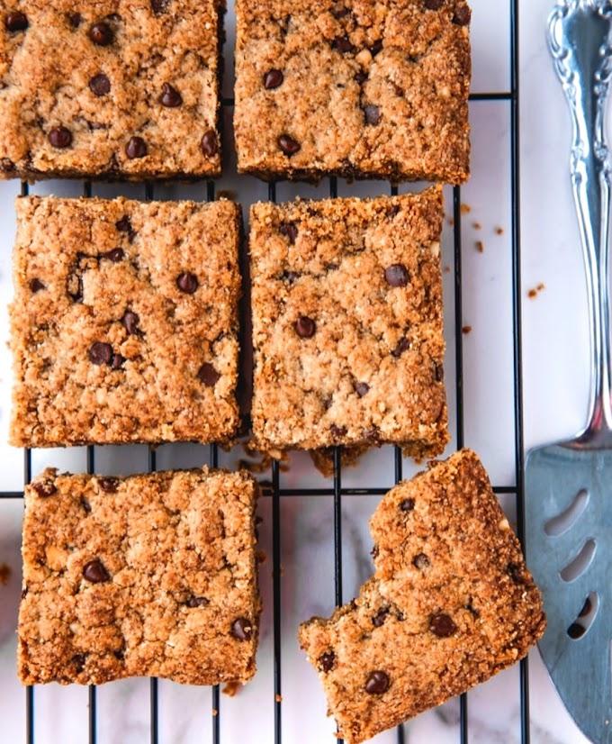 Peanut Butter Blondies Recipe | Breakfast Care