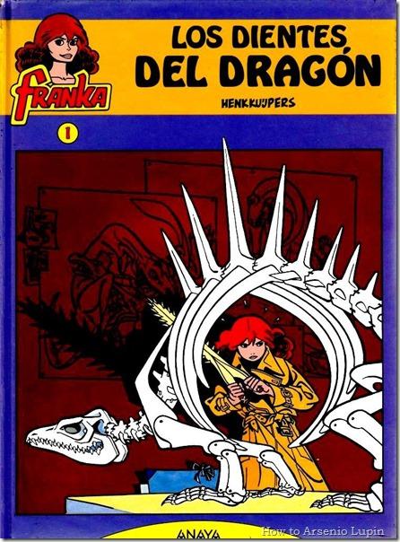 Franka  - Los Dientes del Dragon #1 - página 1